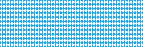 Seamless Oktoberfest blue background Stock Photos