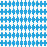 Seamless Oktoberfest pattern with fabric texture Stock Photo