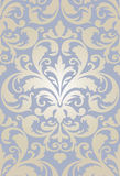 Old baroque wallpaper seamless Stock Image