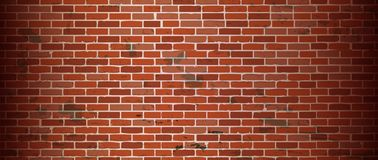 Seamless old brick wall background. Illustration Royalty Free Stock Photo