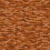 Seamless Old brick wall background with vignette royalty free illustration