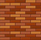 Seamless Old Brick Wall Pattern. Vector Royalty Free Stock Photo