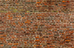 Seamless old brick wall texture. Seamless old red brick wall texture Royalty Free Stock Photos