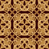 Seamless old eastern pattern Royalty Free Stock Images