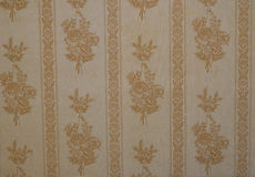 Seamless old flower pattern Royalty Free Stock Image