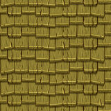 Seamless Old green Wood Roof Tiles Royalty Free Stock Photography