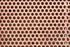 Seamless old metal grid pattern Stock Images