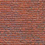 Seamless Old Red Brick Wall Pattern. Seamless Old Red Brick Wall background Royalty Free Stock Images
