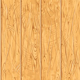 Seamless Old Wooden Planks. Vector Wood Pattern royalty free illustration
