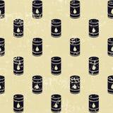 Seamless olje- trummor mönstrar Arkivfoton