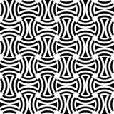 Seamless op art pattern. Stock Photo
