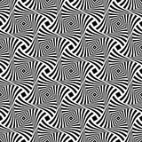 Seamless op art pattern. Abstract lines texture. Vector illustration vector illustration
