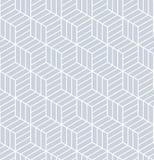 Seamless op art pattern. 3D illusion. Royalty Free Stock Photos