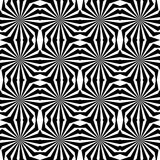 Seamless Op Art Pattern Royalty Free Stock Photos