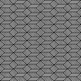 Seamless op art pattern. Geometric texture. Royalty Free Stock Photos