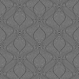 Seamless op art pattern. Royalty Free Stock Images