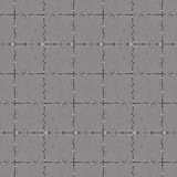 Seamless Op Art Twist Tiles Royalty Free Stock Image