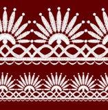 Seamless openwork lace Stock Photo