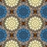 Seamless openwork pattern. You can use it for invitations, noteb Stock Images