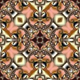 Seamless openwork pattern. You can use it for invitations, noteb Royalty Free Stock Images
