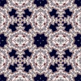 Seamless openwork pattern. You can use it for invitations, noteb Royalty Free Stock Photo