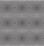 Seamless optical art pattern vector background. Element Stock Image