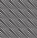 Seamless optical art pattern vector background Stock Image