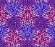 Seamless optical ornamental pattern Stock Photos