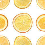 Seamless orange background Stock Images