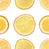 Seamless orange background Stock Images