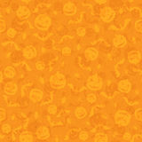 Seamless orange Halloween background Royalty Free Stock Photos
