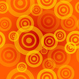 Seamless Orange Pattern Stock Image