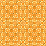 Seamless Oranges Background Royalty Free Stock Photography