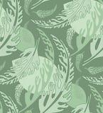 Seamless Organic Wallpaper Pattern Stock Photo