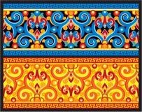 Seamless Oriental Border. Including Vector Format royalty free illustration