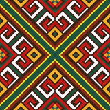 Seamless oriental colourful pattern Royalty Free Stock Image