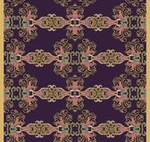 Seamless oriental floral pattern Stock Photos