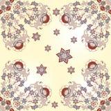 Seamless oriental flower background Royalty Free Stock Photo