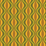 Seamless oriental geometric pattern background Stock Images