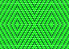 Neon Green Colored Geometric Techno Oriental Ornamental Seamless Pattern Background Wallpaper Royalty Free Stock Photography