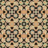Seamless oriental paisley pattern Royalty Free Stock Photography