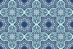 Seamless oriental pattern  background Stock Photography