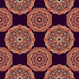 Seamless oriental pattern Royalty Free Stock Photo