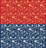 Seamless oriental pattern design Stock Images