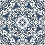 Seamless oriental pattern Royalty Free Stock Photo