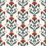 Seamless oriental pattern Royalty Free Stock Images
