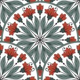 Seamless oriental pattern Stock Image