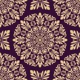 Seamless oriental pattern Stock Photography