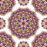 Seamless oriental pattern. Royalty Free Stock Photo