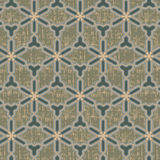 Seamless oriental pattern with grunge Stock Photo